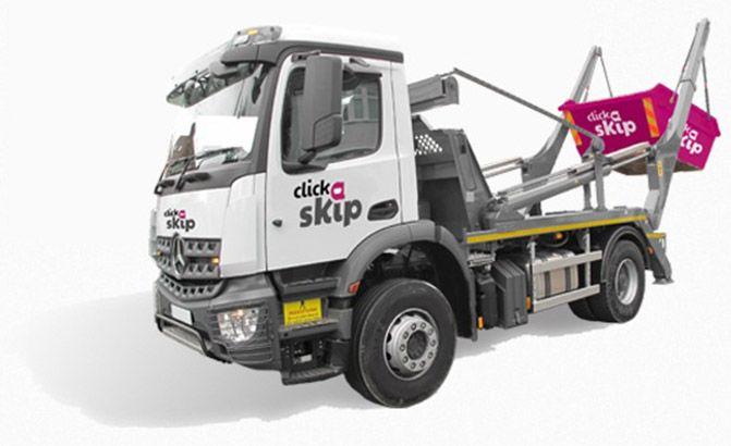 clickaskip lorry