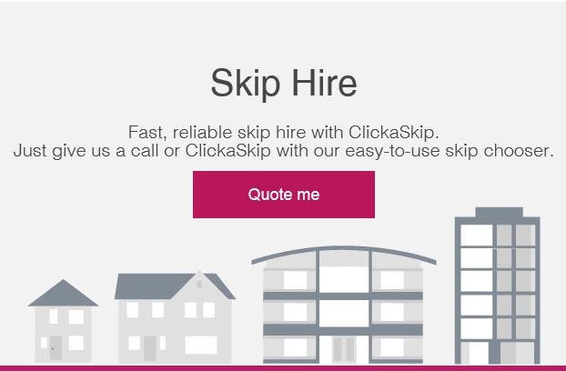 skip hire website