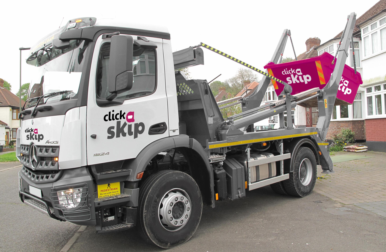 click a skip  lorry - Copy